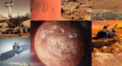 Стройматериалы планеты Марс для будущих построек